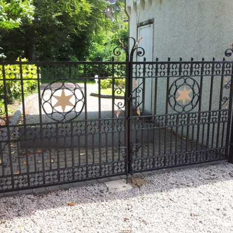 Exclusive Wrought Iron Gates