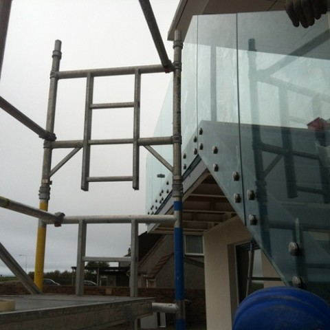 Glass Balustrades Edinburgh
